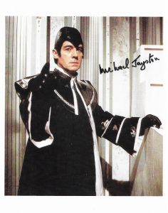 Michael Jayston (DOCTOR WHO) genuine signed autograph 10
